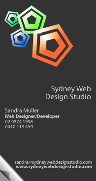 Business Card 4 for Sydney Web Design Studio